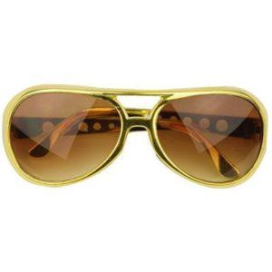 очила елвис златни