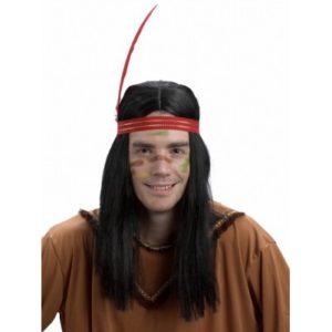 перука индианец