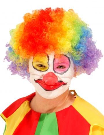 перука клоун детска