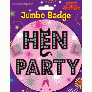 Hen-Party-Giant-Badge