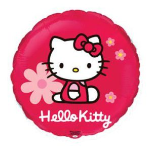 БАЛОН ФОЛИО HELLO KITTY КРЪГЪЛ