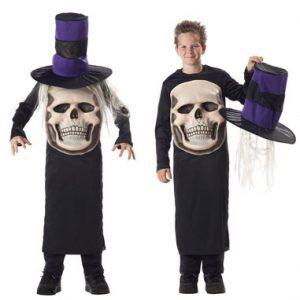 SkullMadHatterChildCostume