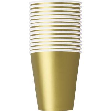 парти чаши златни