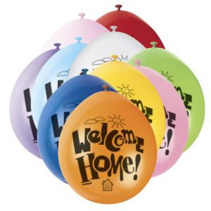 WelcomeHomePrintedBalloons