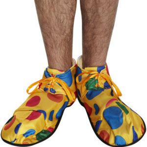 обувки клоун платнени