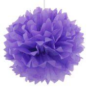 декоративен помпон лилав