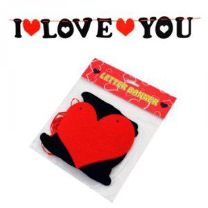 НАДПИС I LOVE YOU