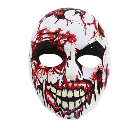 маска-череп-кървав
