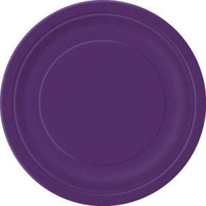парти чинии лилави