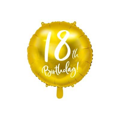 БАЛОН ФОЛИО 18 th BIRTHDAY