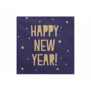 ПАРТИ САЛФЕТКИ HAPPY NEW YEAR