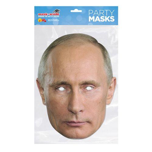 МАСКА 3D КАРТОН ПУТИН