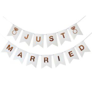 ГИРЛЯНД JUST MARRIED