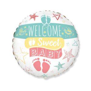 БАЛОН ФОЛИО WELCOME BABY