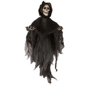 механичен скелет с качулка 80 см