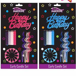 комплект свещи за рожден ден