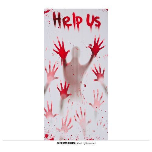 ПОСТЕР ЗА ВРАТА HELP US