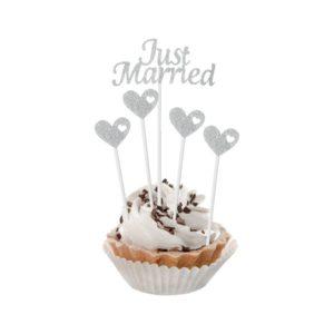ТОПЕРИ ЗА ТОРТА JUST MARRIED